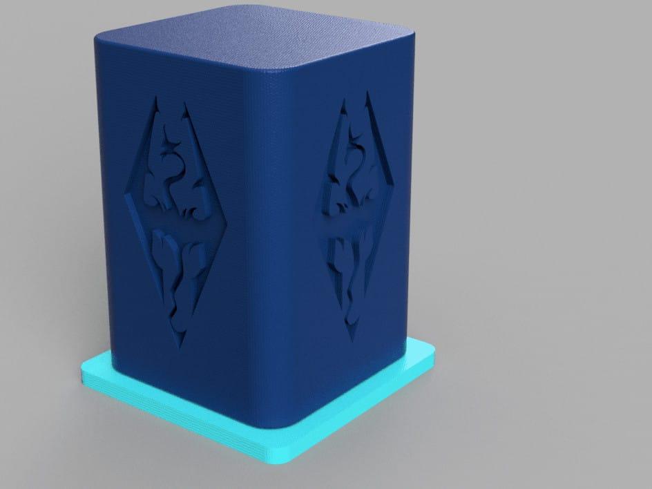Skyrim Lamp v4