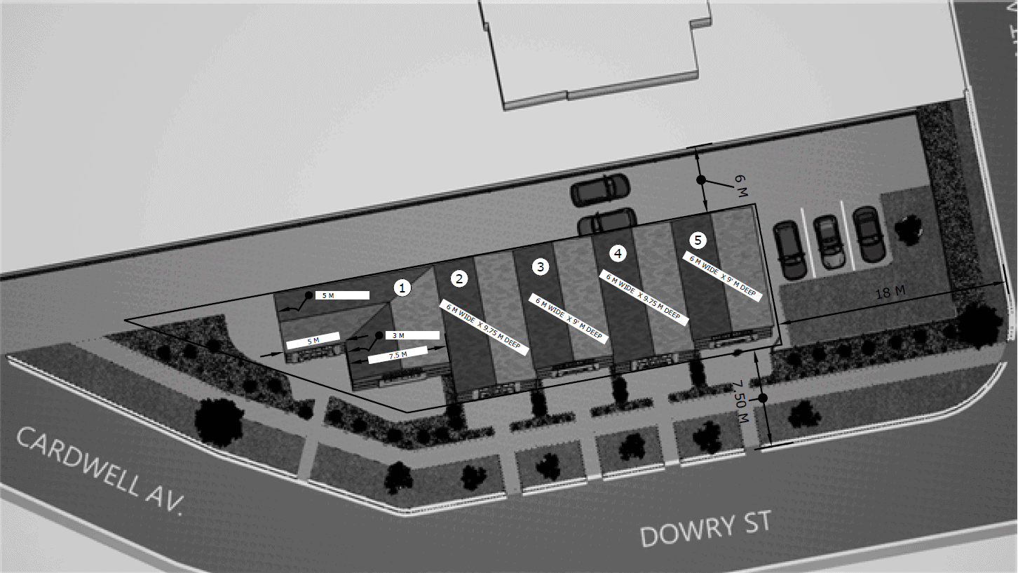 Townhome concept schematic