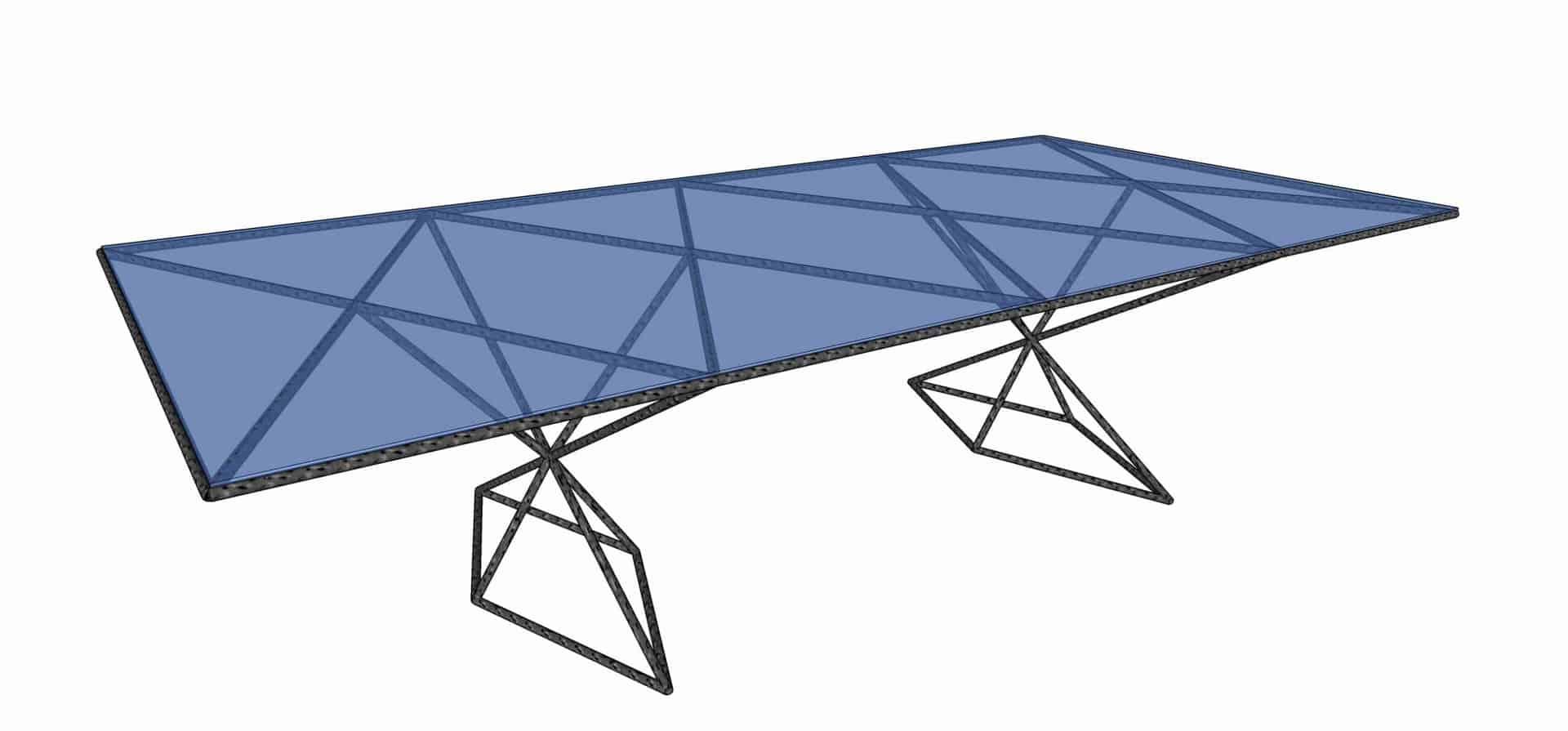Rebar Table sketchup