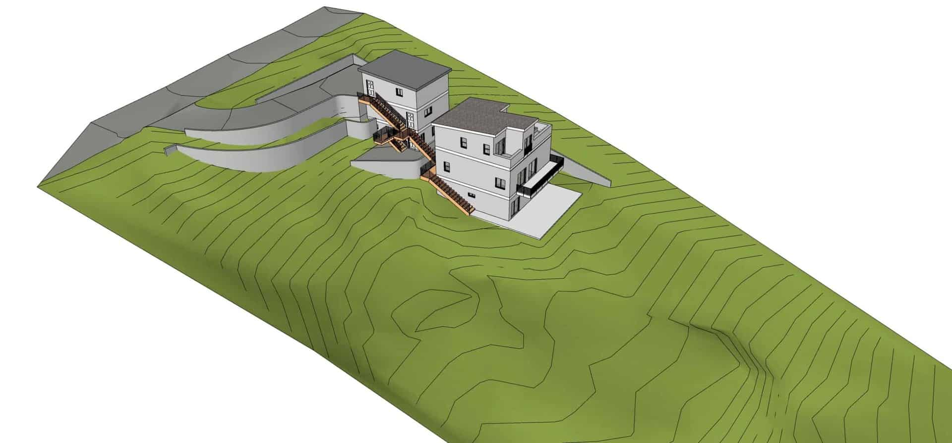 Topography sketchup 3d