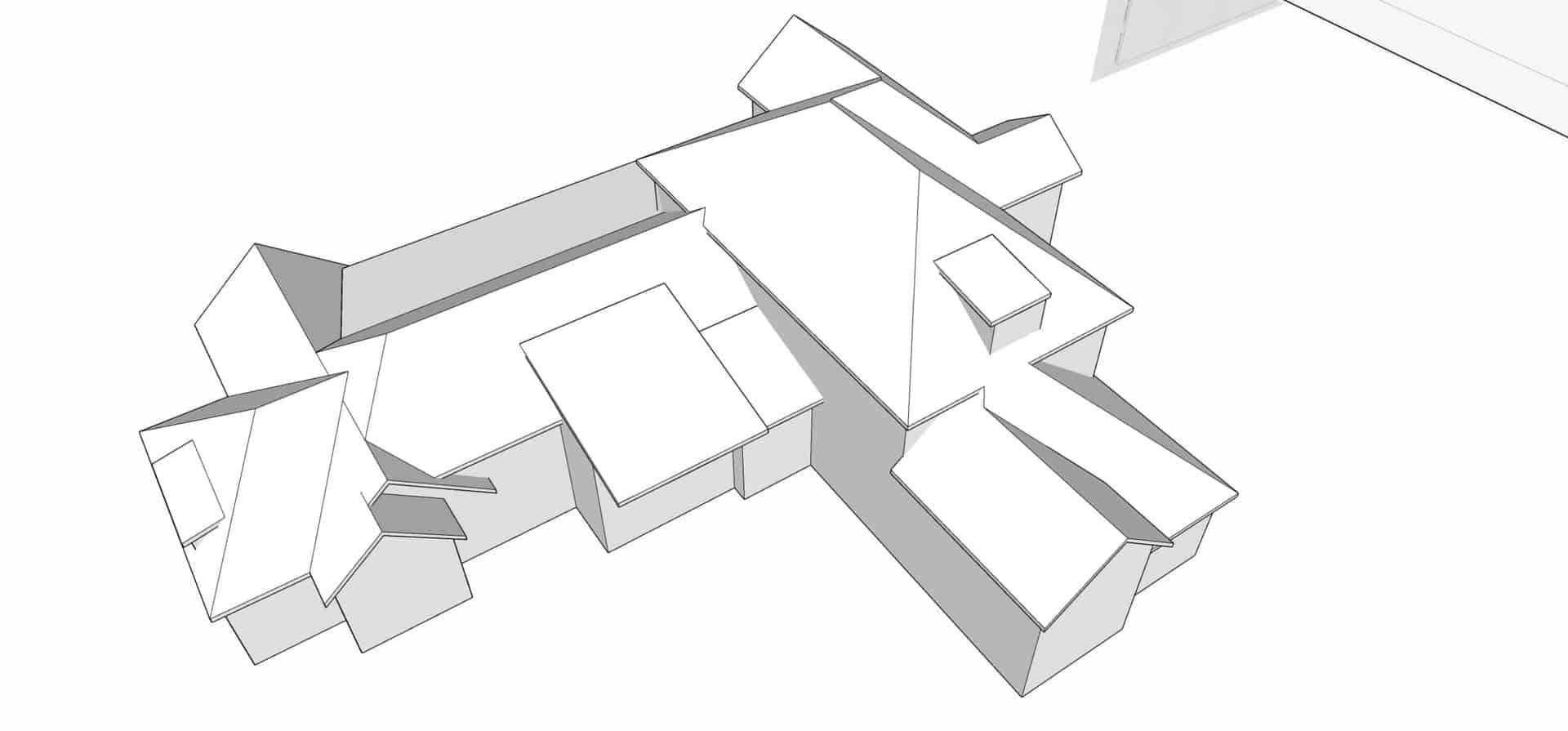 roof model sketchup tutor