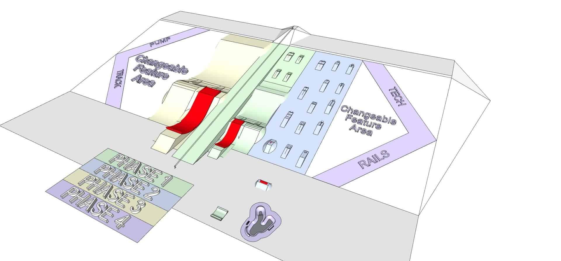 terrain park sketchup model