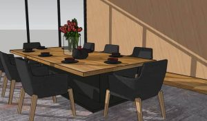 basic-sketchup-dining-room-side-view