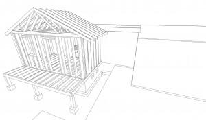 construction model sketchup
