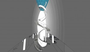 spiral stairs sketchup tutor